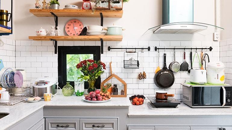 จัดบ้าน 5 วิธีเคลียร์ห้องครัวให้เกลี้ยง