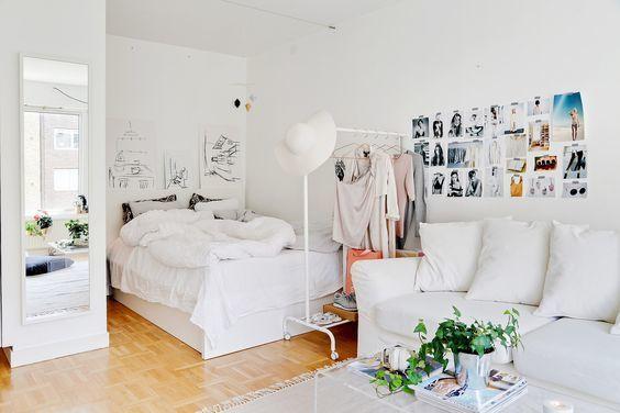 ไอเดียแต่งบ้าน 4 วิธีเนรมิตห้องนอนสีขาว