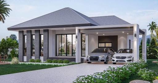 สร้างบ้านชั้นเดียว อย่างไรให้น่าอยู่